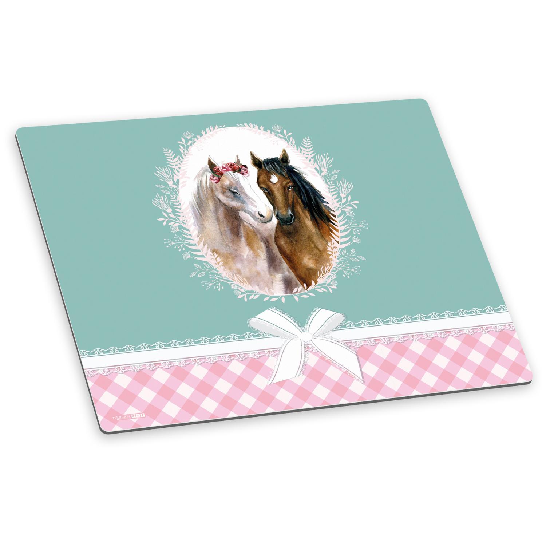 itenga Deluxe Schreibtischunterlage Pferde 50x40 cm A3 a...