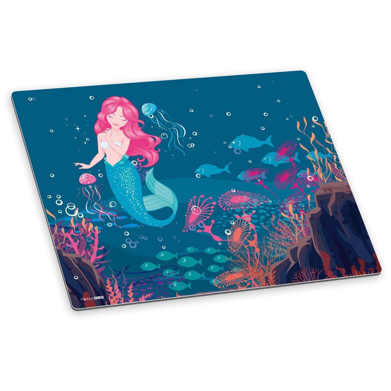 itenga Deluxe Schreibtischunterlage Meerjungfrau 50x40 c...