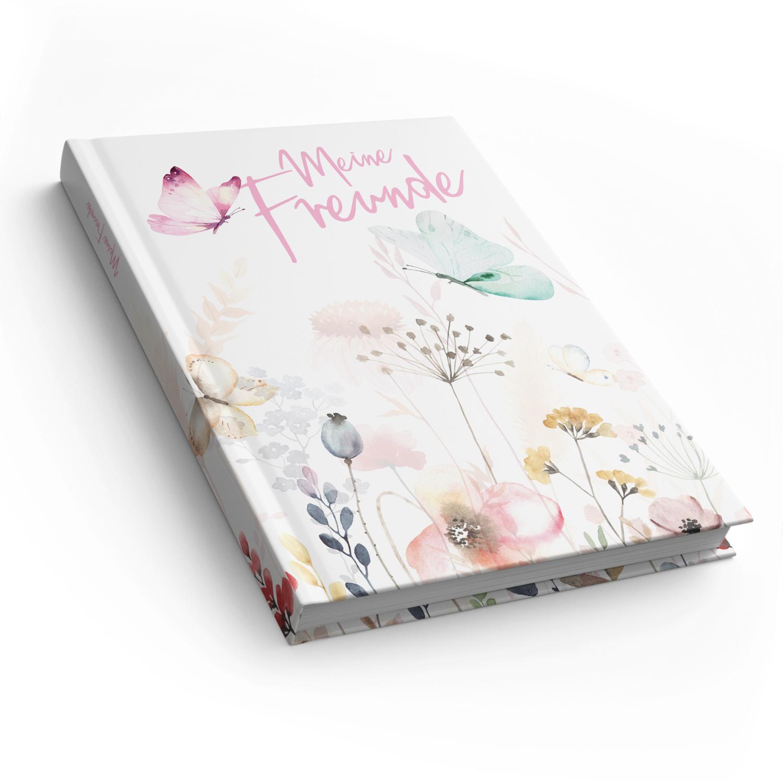 itenga Freundebuch Schmetterling DIN A5, 88 Seiten 150g ...