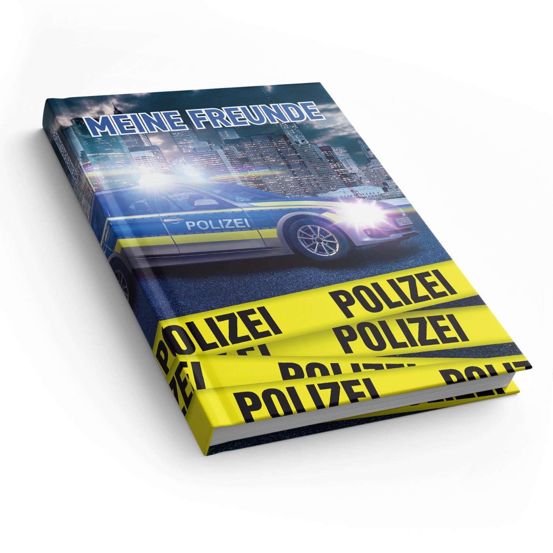 itenga Freundebuch Polizei DIN A5, 88 Seiten 150g Naturp...