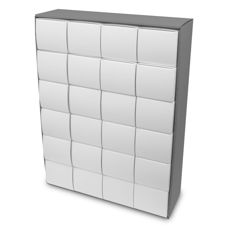 itenga Adventskalender zum Füllen Quader XL 6x4 (außen g...