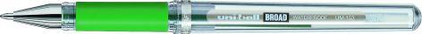uni-ball Gelschreiber SIGNO broad UM-153C, grün