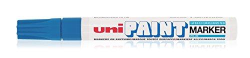 uni-ball Permanent-Marker PAINT (PX-20), hellblau