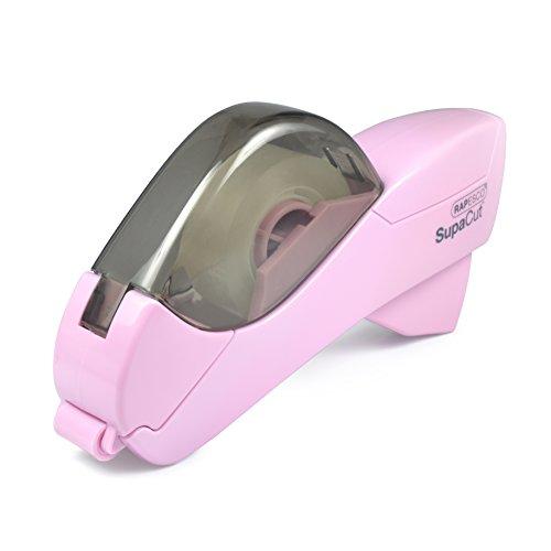 RAPESCO automatischer Klebefilm-Abroller SupaCut, rosa