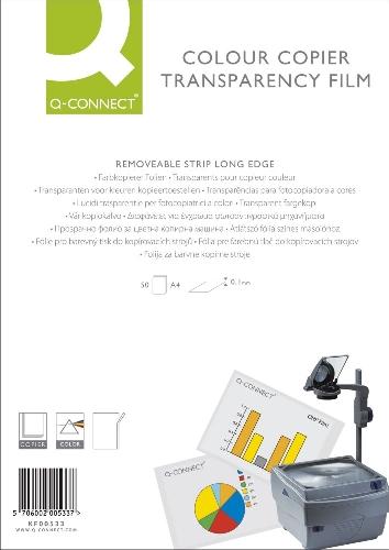 Transparentfolie für Farbkopierer 50Bl.
