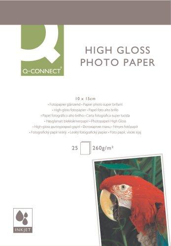 Inkjet Fotopapier 10x15 25BL