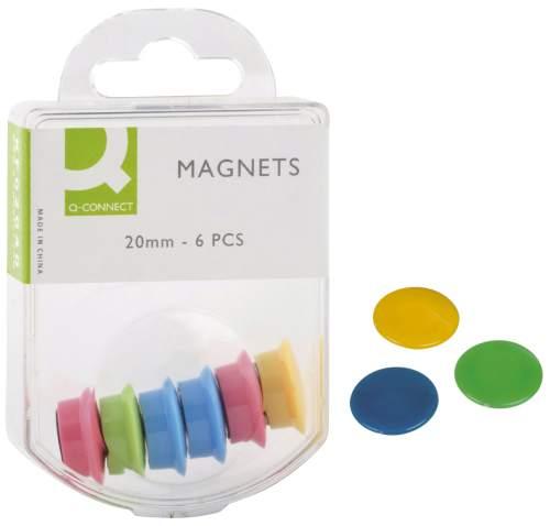 Magnet D24mm  H7mm sortiert