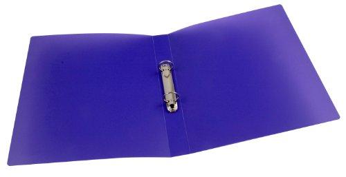 Schulordner A4 transluzent violett