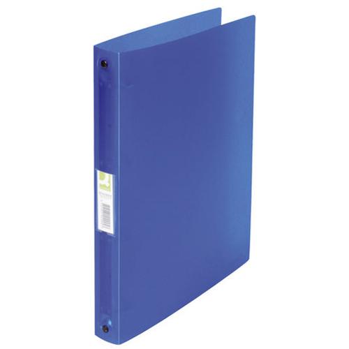 Ringmappe transluzent blau
