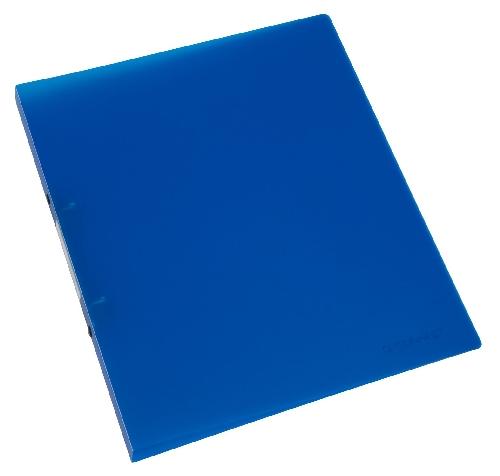 Schulordner A4 transluzent blau