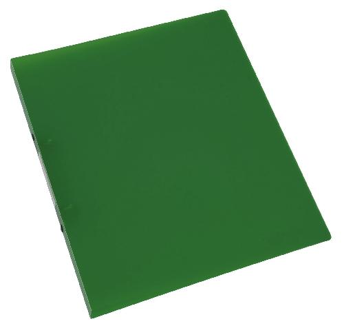 Schulordner A4 transluzent grün