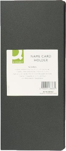 Visitenkartenbuch schwarz