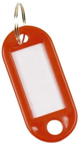 Schlüsselanhänger 10ST rot