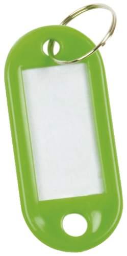 Schlüsselanhänger 10ST grün