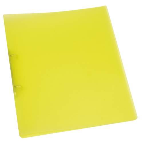 Schulordner A4 transluzent gelb