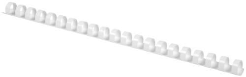 Q-CONNECT Spiralbinderücken 10mm 21R weiß
