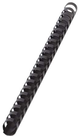 Q-CONNECT Spiralbinderücken A4 14mm 100St schwarz