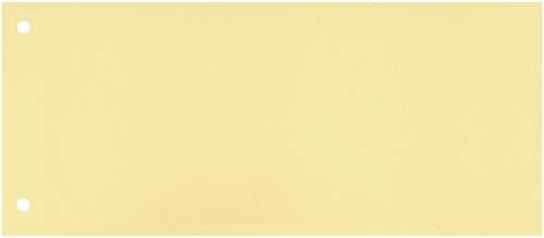 Trennstreifen 10,5x24cm 100ST gelb