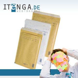 Luftpolstertasche Größe E / 5  braun - 100 Stück - 210 x...