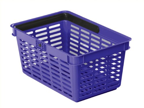 DURABLE Einkaufskorb SHOPPING BASKET 19, 19 Liter, blau