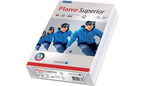 PAPYRUS Multifunktionspapier Plano Superior, A5, 80 g/qm