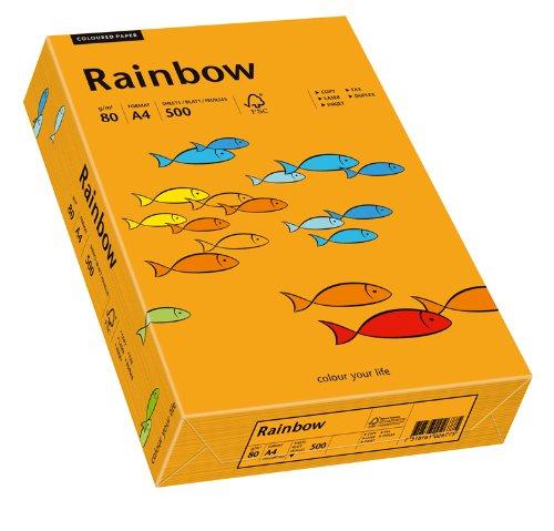 PAPYRUS Multifunktionspapier Rainbow, A4, 80 g/qm, orange