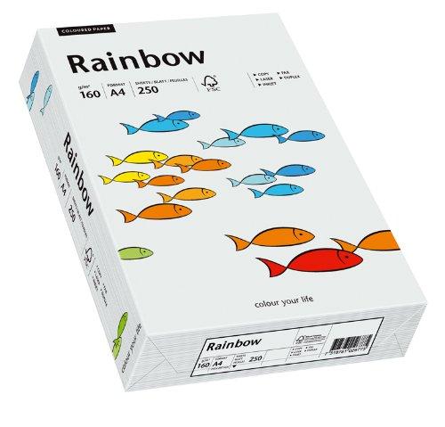 PAPYRUS Multifunktionspapier Rainbow, A4, 160 g/qm, hell...