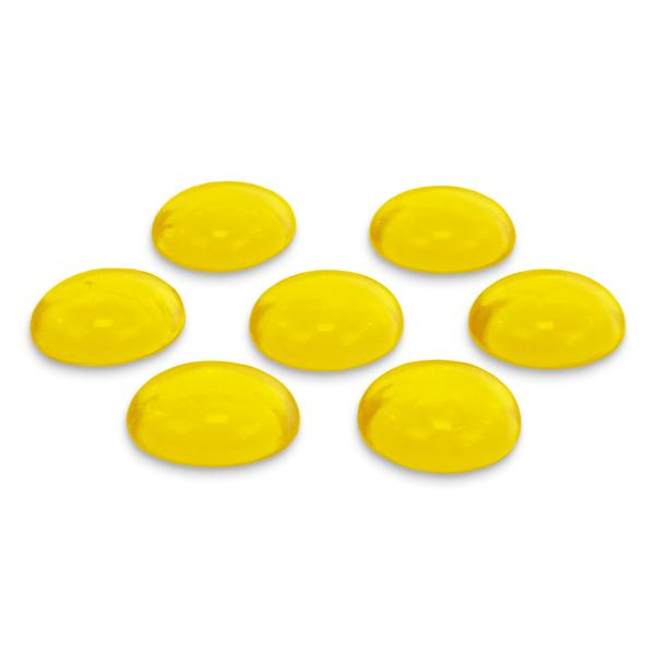 GLOREX Glas-Nuggets, 200 g, gelb