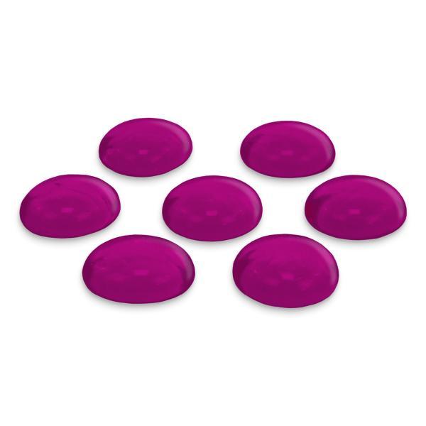 GLOREX Glas-Nuggets, 200 g, lila
