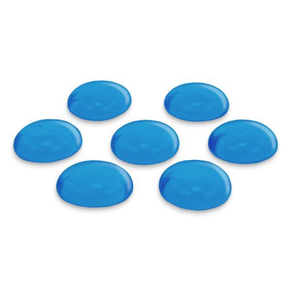 GLOREX Glas-Nuggets, 200 g, hellblau
