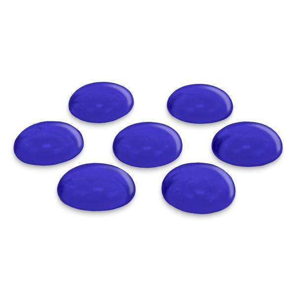 GLOREX Glas-Nuggets, 200 g, dunkelblau