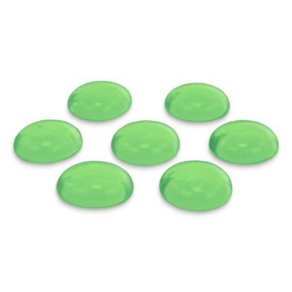 GLOREX Glas-Nuggets, 200 g, hellgrün