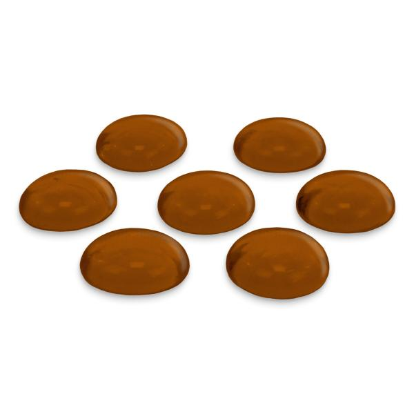 GLOREX Glas-Nuggets, 200 g, braun