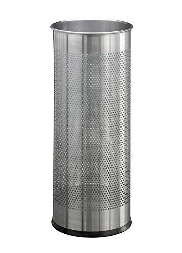 DURABLE Edelstahl-Schirmständer, rund, metallic silber