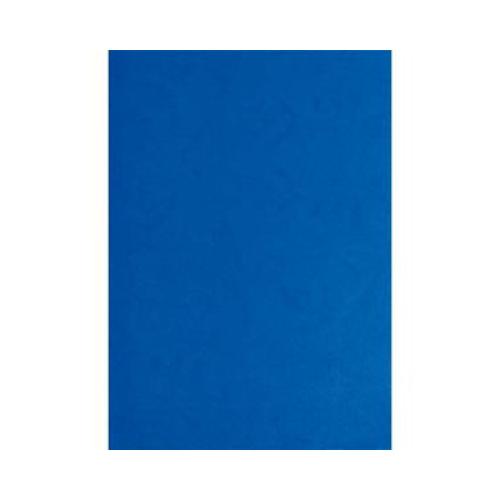 pavo Einbanddeckel, Lederstruktur, DIN A4, dunkelblau