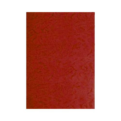 pavo Einbanddeckel, Lederstruktur, DIN A4, rot