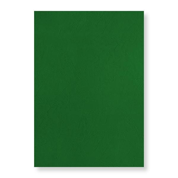 pavo Einbanddeckel, Lederstruktur, DIN A4, grün