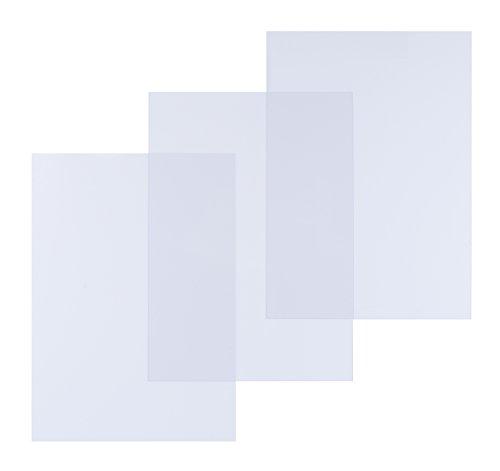 pavo Einbanddeckel, DIN A3, PVC, transparent, 0,30 mm