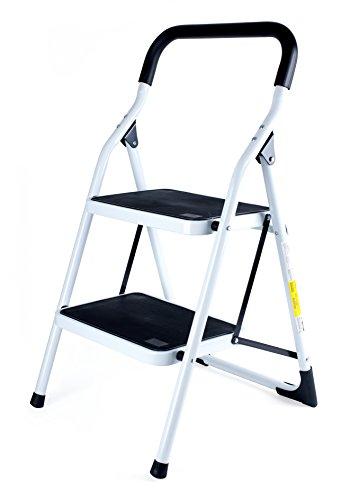 pavo Stahl-Klapptritt, 2 Stufen