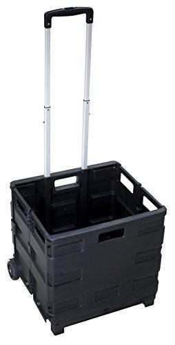 pavo Klapp-Transportkarre mit Klappbox, Tragkraft: bis 3...