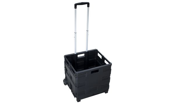 pavo Klapp-Transportkarre mit Klappbox, Tragkraft: bis 2...