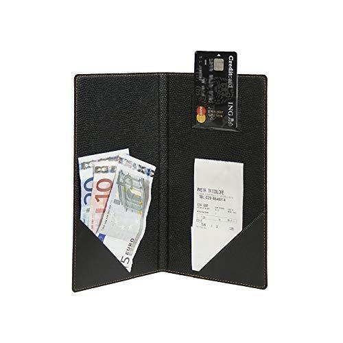 Securit Rechnungsmappe TRENDY, schwarz