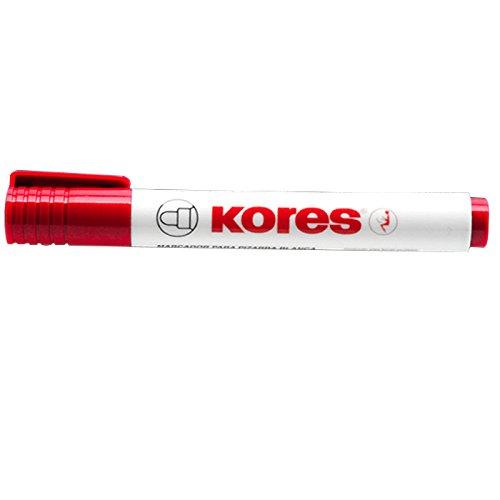 Kores Whiteboard- & Flipchart-Marker K MARKER, rot