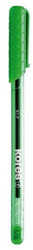 Kores Einweg-Kugelschreiber K-PEN K1, grün, Strichstärke: F