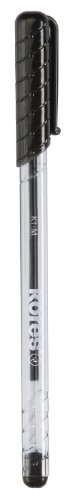 Kores Einweg-Kugelschreiber K-PEN K1, schwarz, Strichst.: M