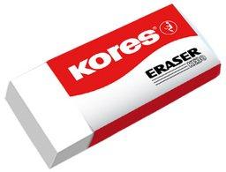 Kores Kunststoff-Radierer KE30, (B)40 x (T)21 x (H)10 mm