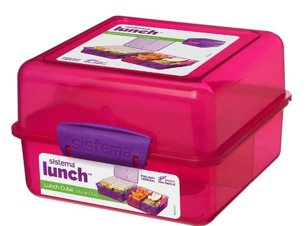 Sistema Lunch Cube pink 1,4l
