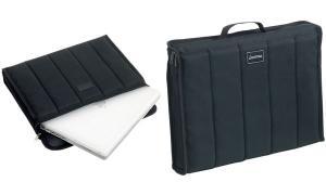 LiGHTPAK Notebook-Tasche CASSINO, Polyester, schwarz