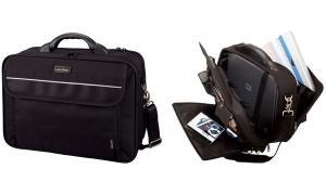 LiGHTPAK Notebook-Tasche ARCO, Polyester, schwarz