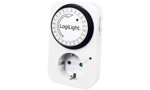 LogiLight Mechanische Tageszeitschaltuhr, Kunststoffgehäuse